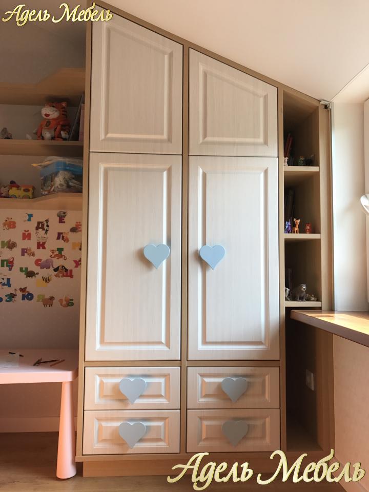 детская мебель на заказ в тюмени недорого рассрочка адельмебель